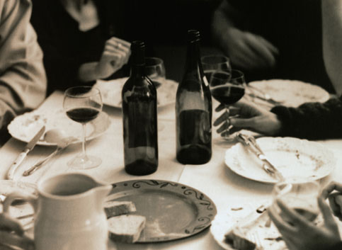 Come Party With Me: Winter Dinner - Invites