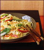 Asian-Inspired Side: Red Curry Noodles