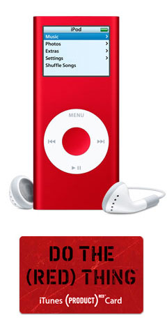 Valentine's Day Gift Idea's for HIM! - iPod Red