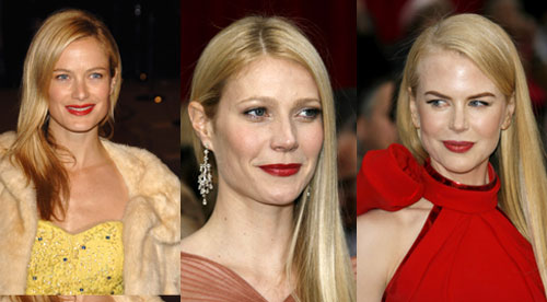 Oscars Hair Trend: Blondes On The Side