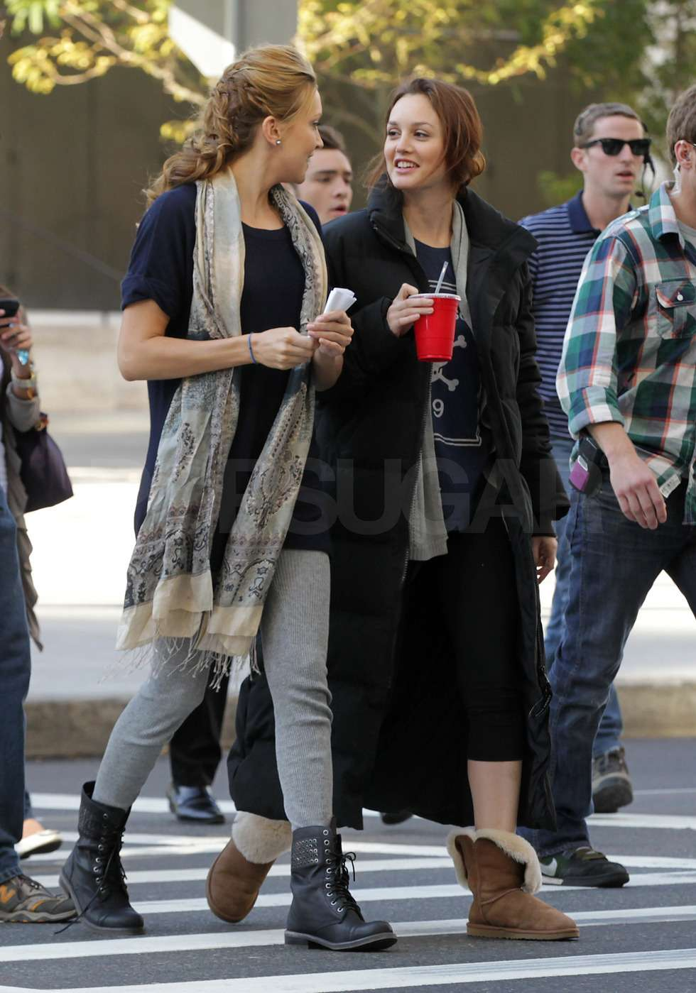 Leighton Meester And Katie Cassidy Gossip Girl | www ...