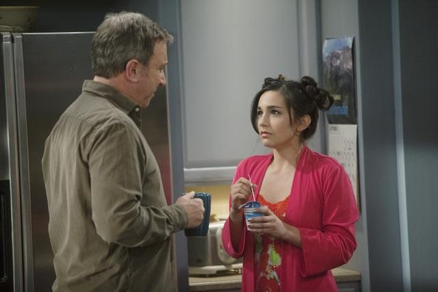 Tim Allen and Molly Ephraim in ABC&#039;s Last Man Standing.