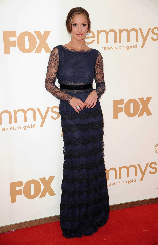 Minka Kelly at the Emmys.
