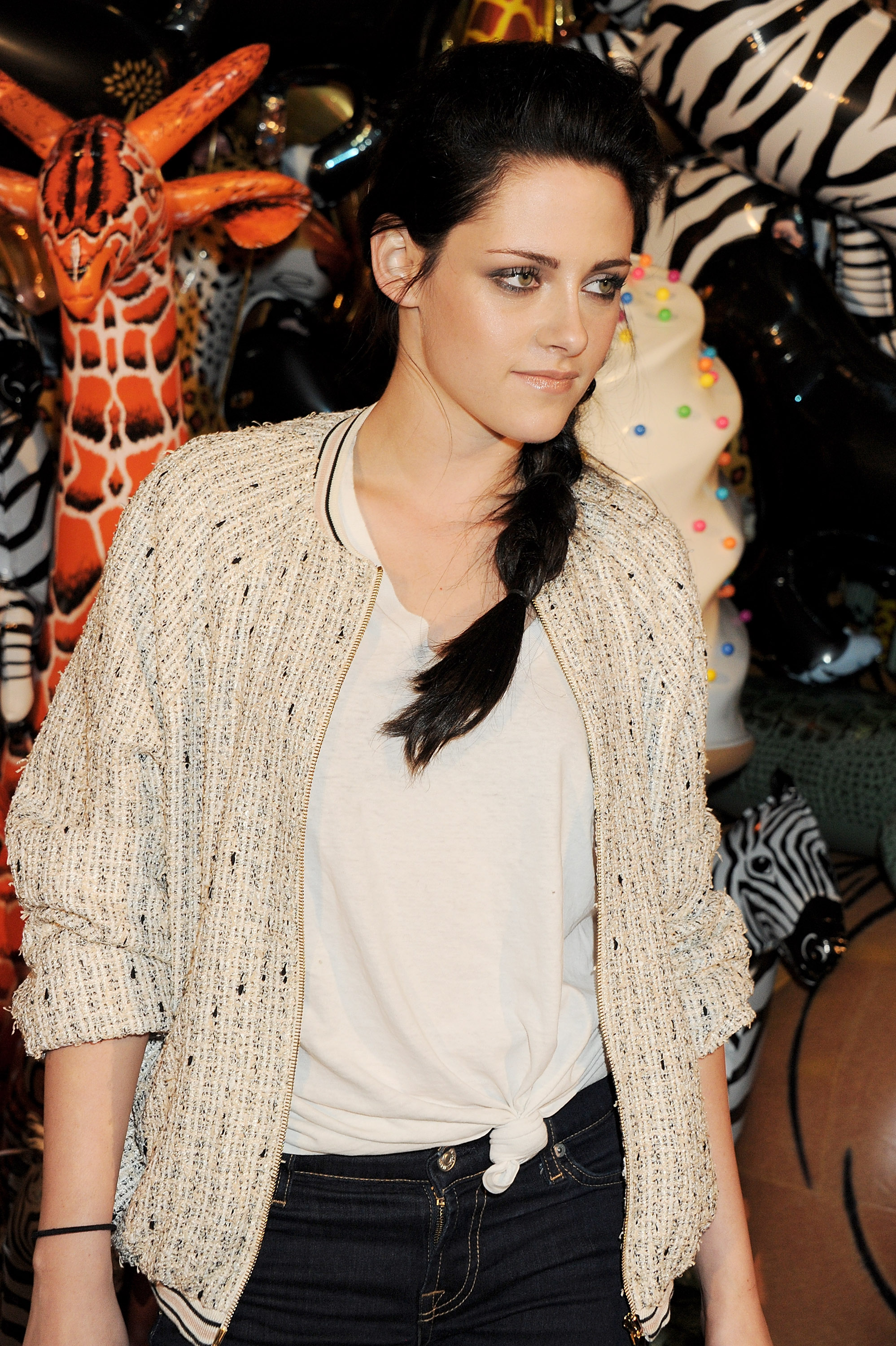Kristen Stewart at Mulberry afterparty in London.