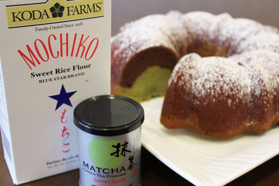 Chocolate-Matcha Green Tea Mochi Bundt Cake Recipe | POPSUGAR Food