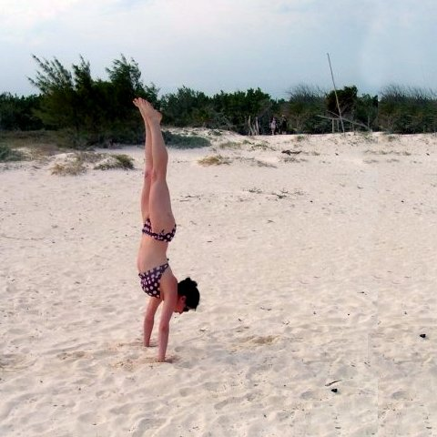 tips for doing inversions in yoga  popsugar fitness