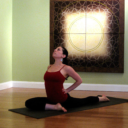 yoga poses for your it band  popsugar fitness