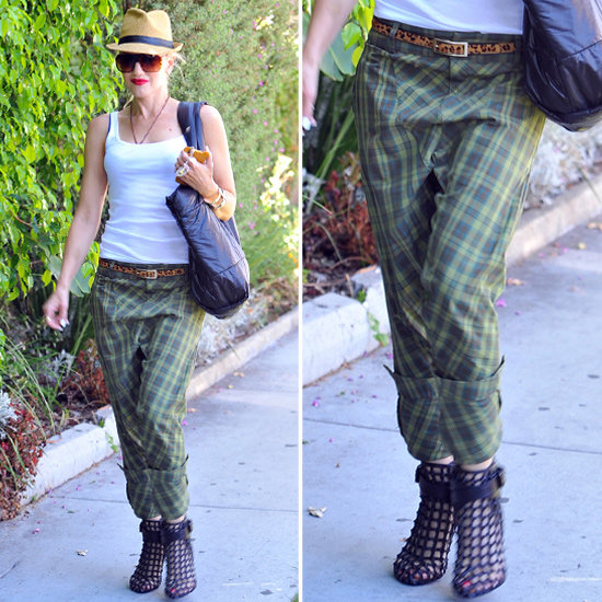 plaid pants for girls - Pi Pants