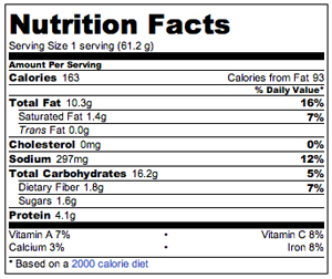 recipe: wheat berry nutritional information [17]