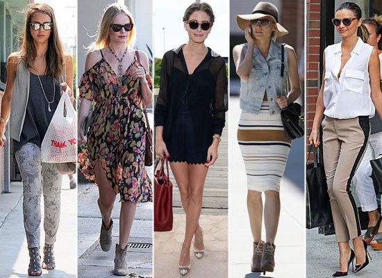 Best Celebrity Street Style 2012 Popsugar Fashion