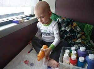Family Auctions Toddler's Art to Pay Medical Bills