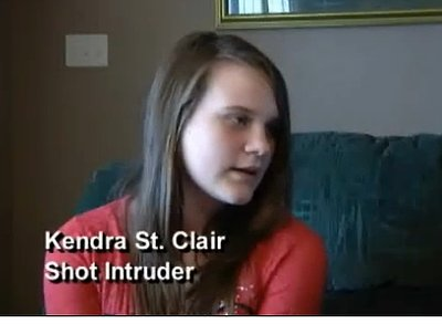 12-Year-Old Girl Shoots Intruder (VIDEO)