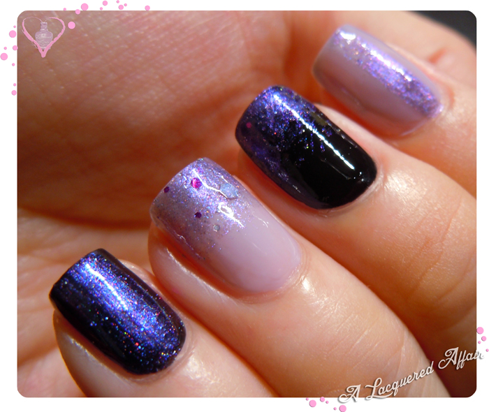 Fanchromatic Nails Celestial Temple over a-england Camelot and Guinevere