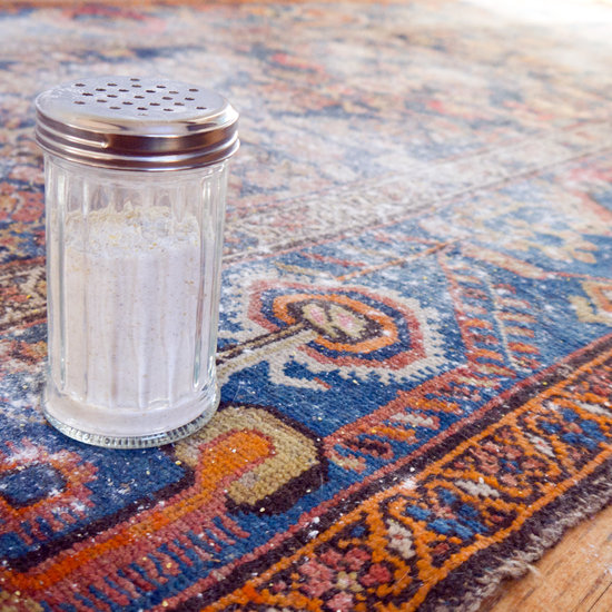Homemade dry carpet cleaner popsugar smart living pour the dry carpet cleaner into a sprinkle top container which you can pick up at your local dollar store sprinkle generously over carpet solutioingenieria Image collections