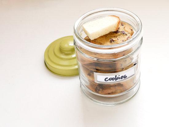 Image result for bread in biscuit jar