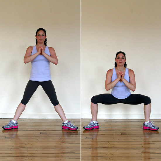 4 Week Squat Challenge to Tone Lower Body | POPSUGAR Fitness