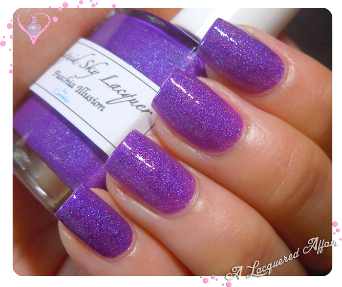 Liquid Sky Lacquer Fuschia Illusion - cool