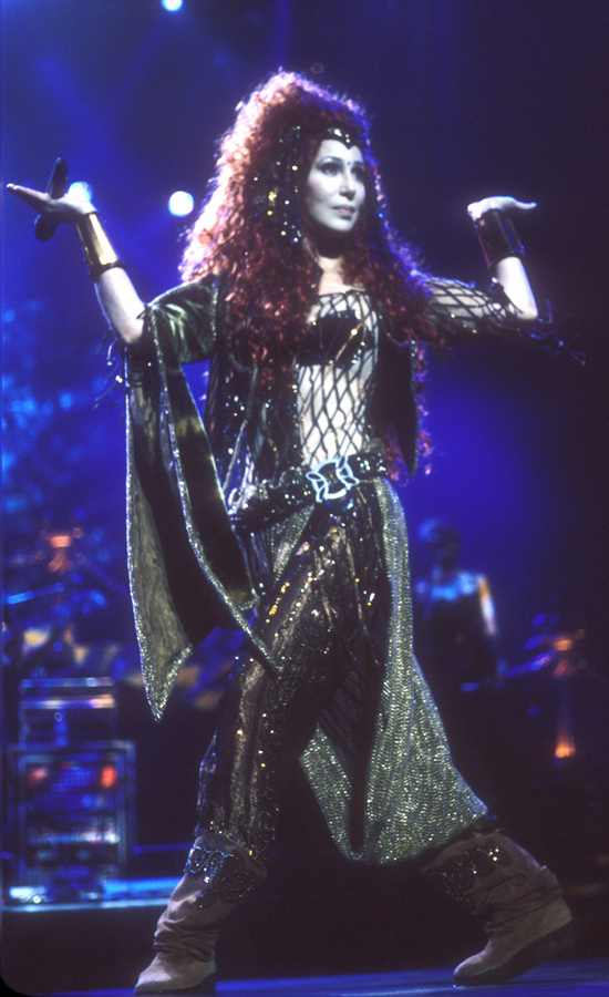 cher costumes for farewell tour  popsugar fashion
