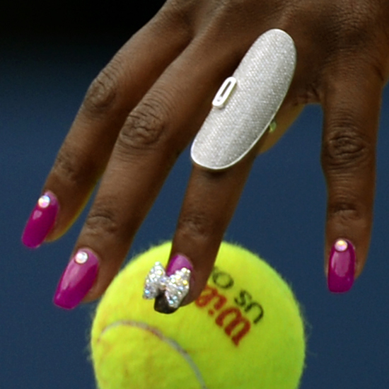 Serena Williams Hair And Nails Us Open 2013 Popsugar