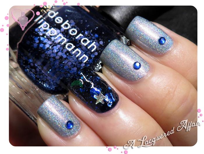 Sapphire-inspired Mani for #PolishTogether