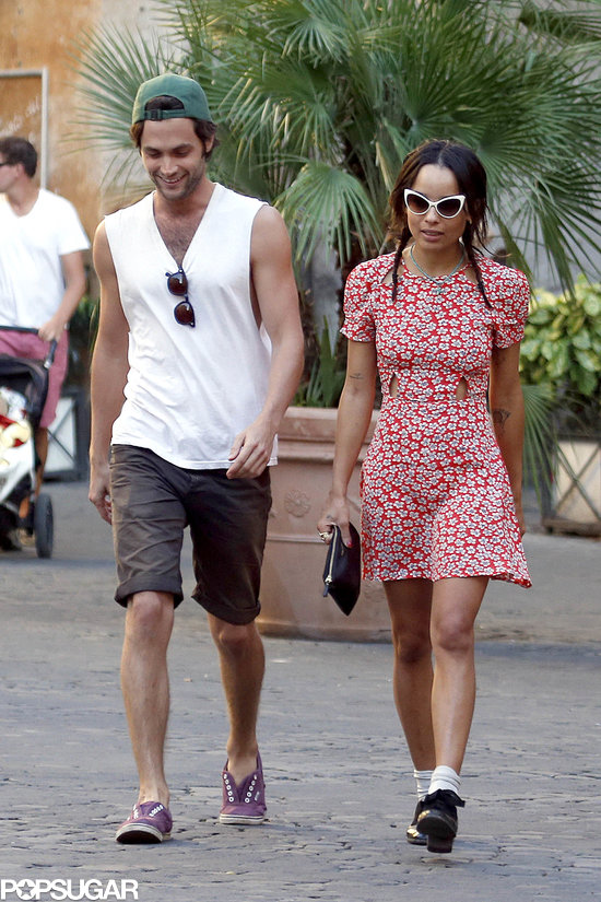Penn Badgley and Zoe Kravitz Back Together | Pictures ...
