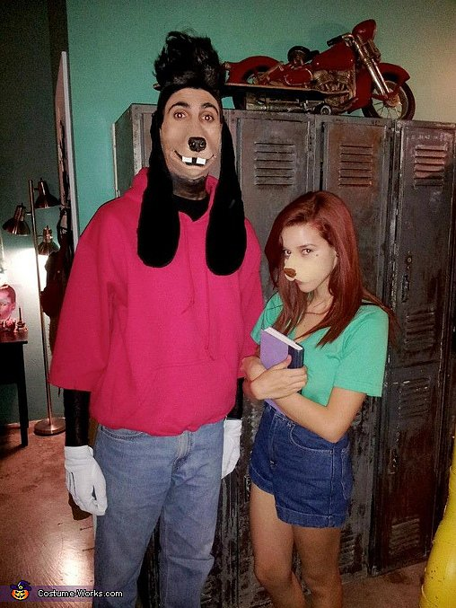 Max and Roxanne From A Goofy Movie