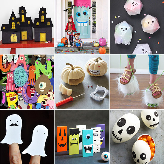 halloween crafts pinterest craft ideas from popsugar 2135