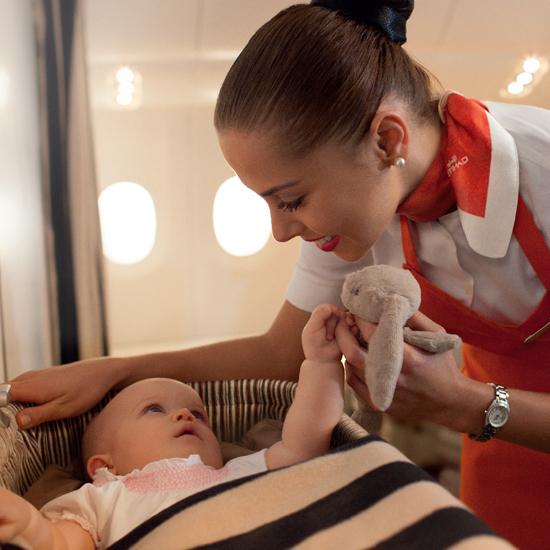 Flying Nanny, Ethiad Airways