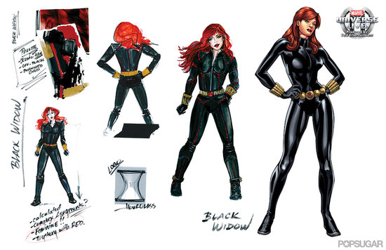 Black Widow Marvel Universe LIVE