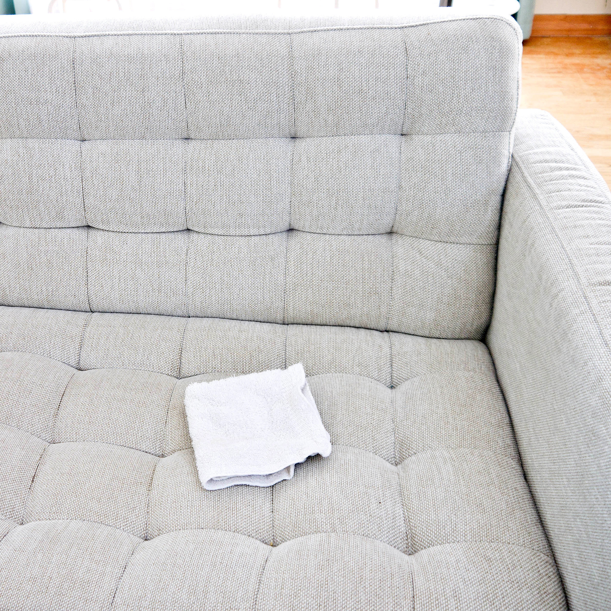 How to Clean a Natural Fabric Couch