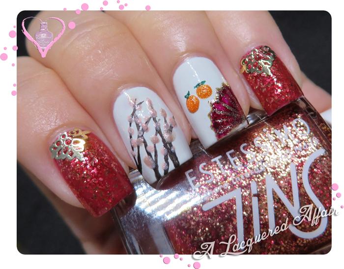 Chinese New Year Inspired Mani 2013