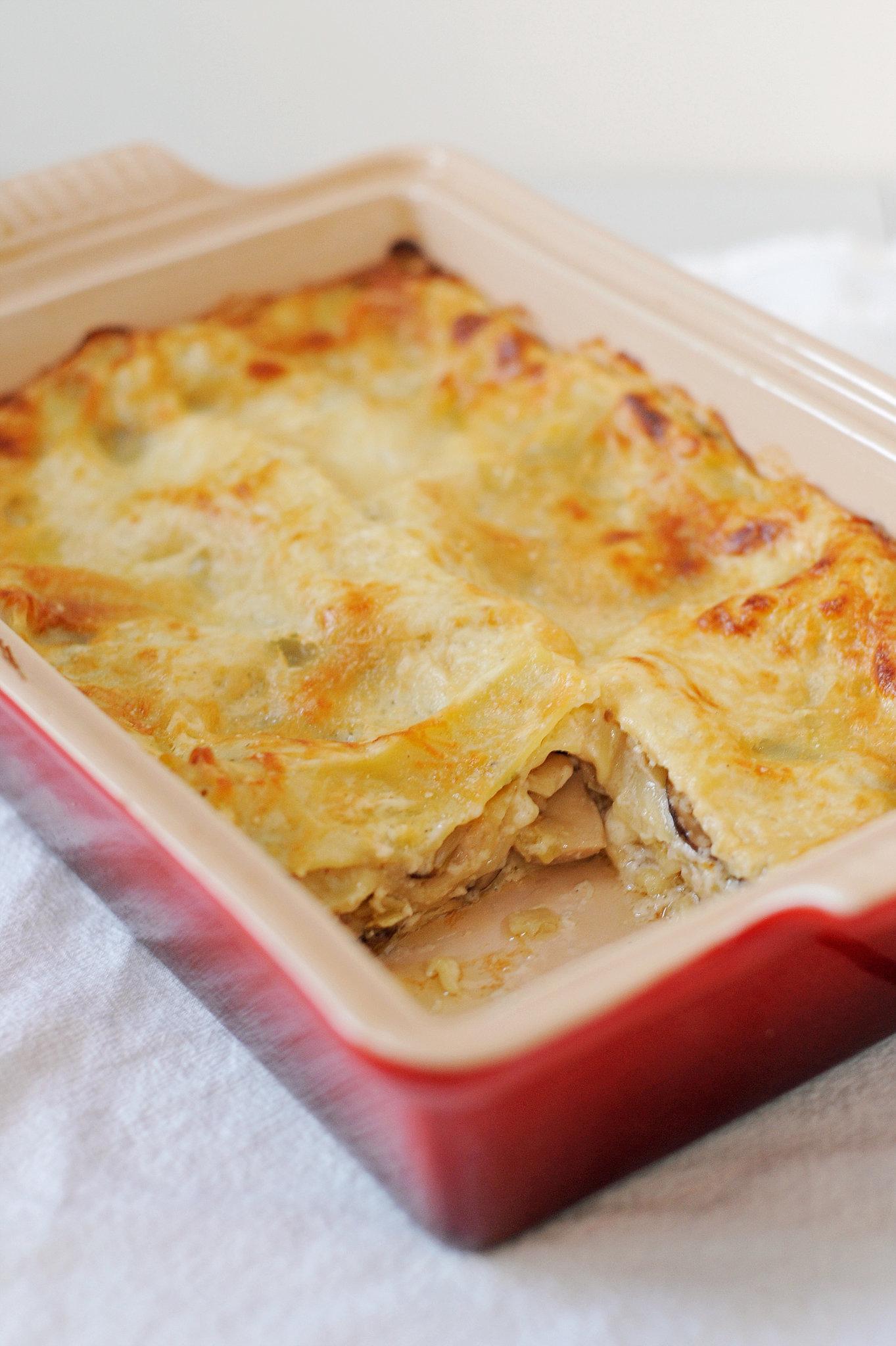Ina Garten Pumpkin Pie Vegetarian Mushroom Lasagna Recipe  Popsugar Food