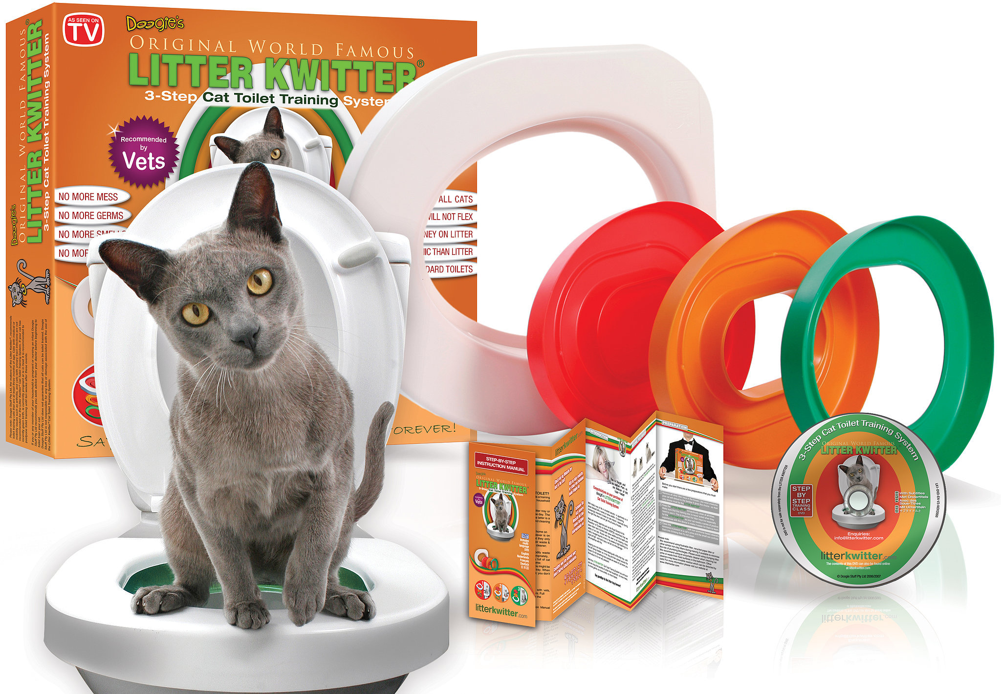 Litter Kwitter Cat Toilet Training Tool Tips Popsugar Pets