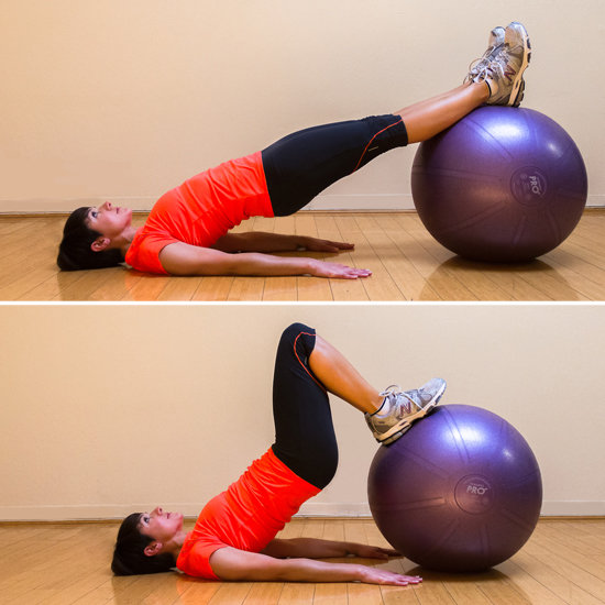 Stability Ball Hamstring Curl T Nation: How To Tone The Hamstrings
