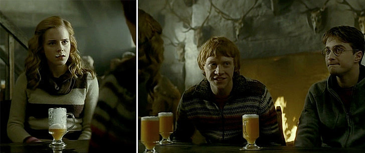 Image result for butterbeer movie still