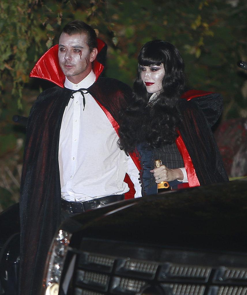 Gavin Rossdale and Gwen Stefani as Vampires