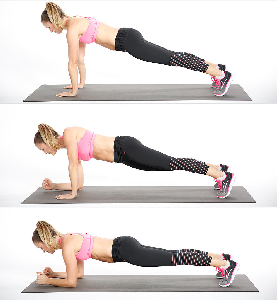 20 Minute Cardio And Strength Training Workout Popsugar