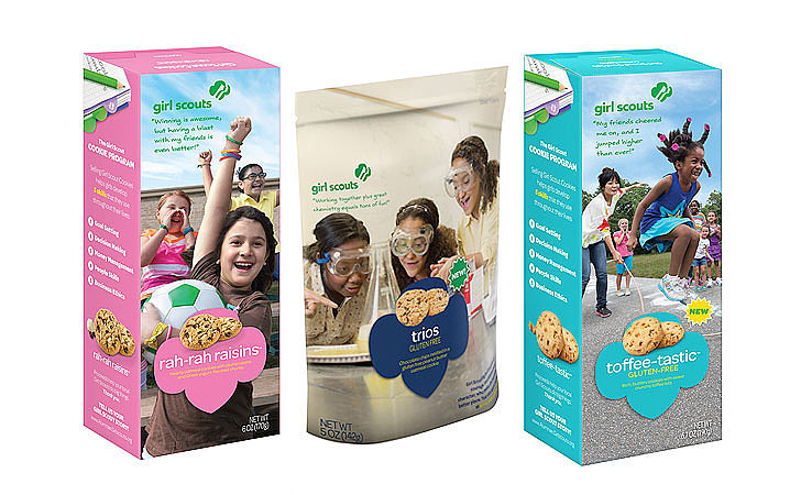 new girl scouts cookie flavors popsugar food