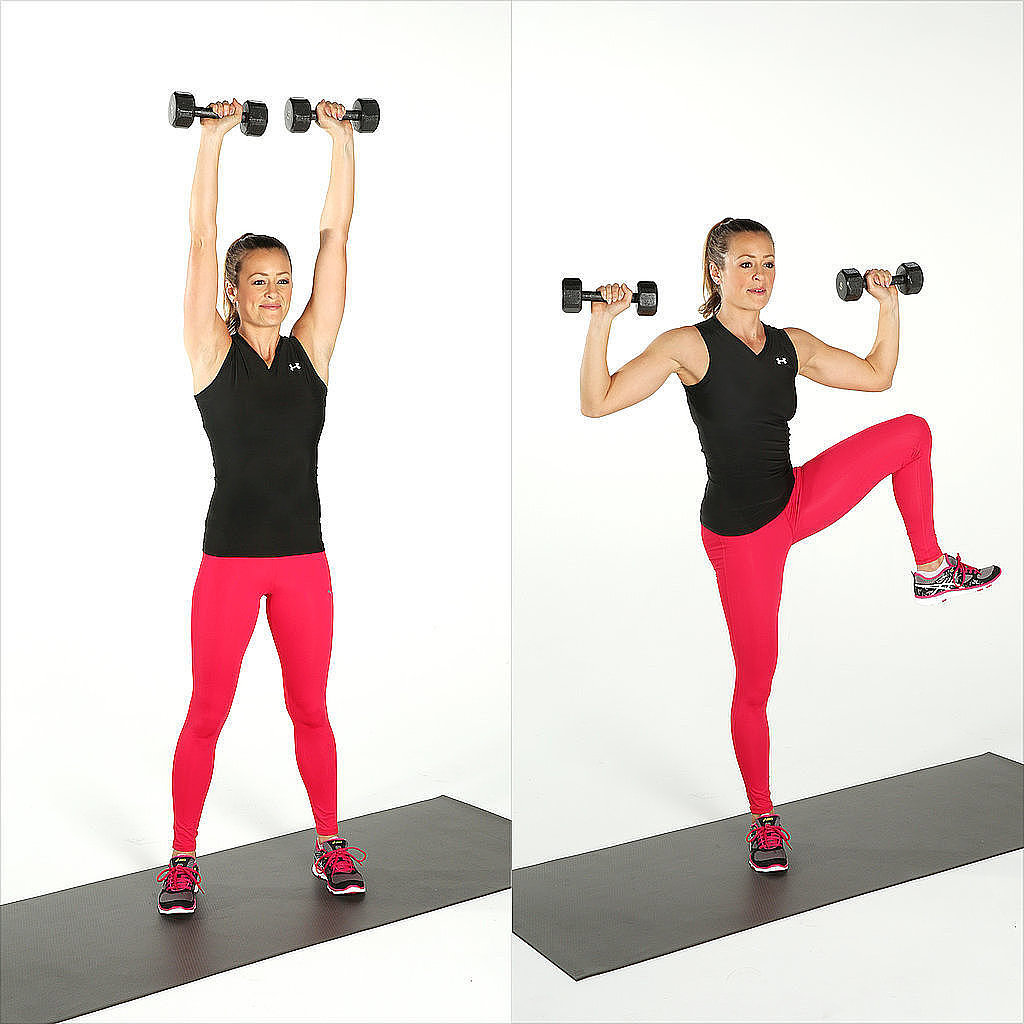 4Minute Workout POPSUGAR FitnessOblique Exercises With Weights
