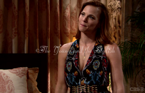 phyllis newman maxi dress the young and the restless