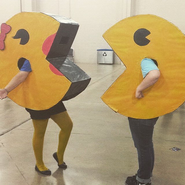 Pac-Man and Mrs. Pac-Man