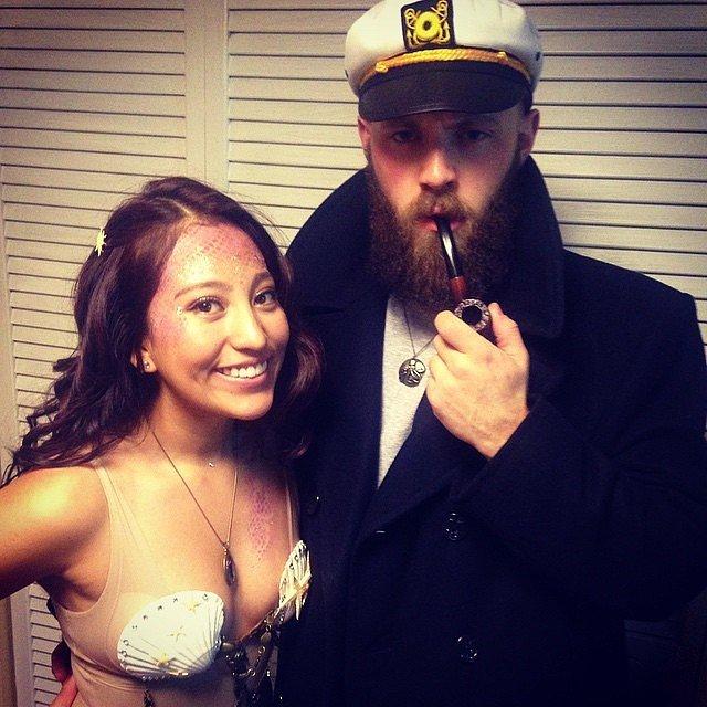 Sea Captain and Mermaid