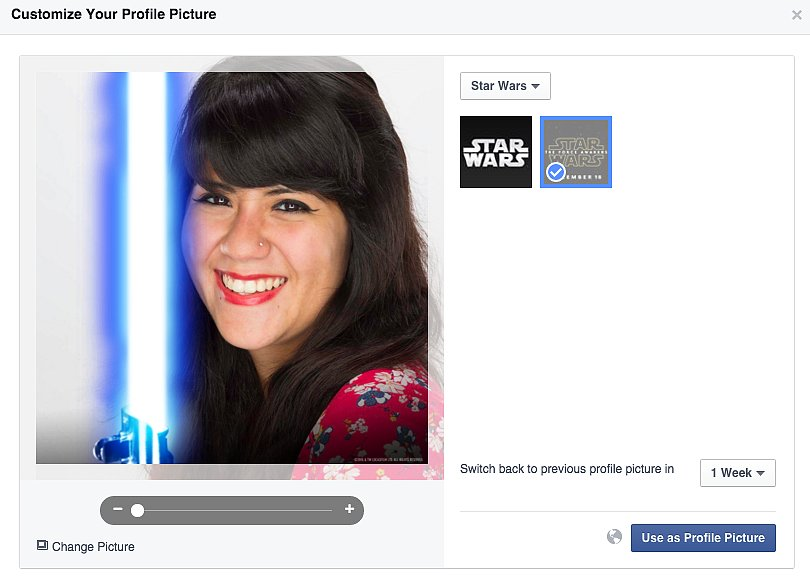 how to choose a facebook profile picture