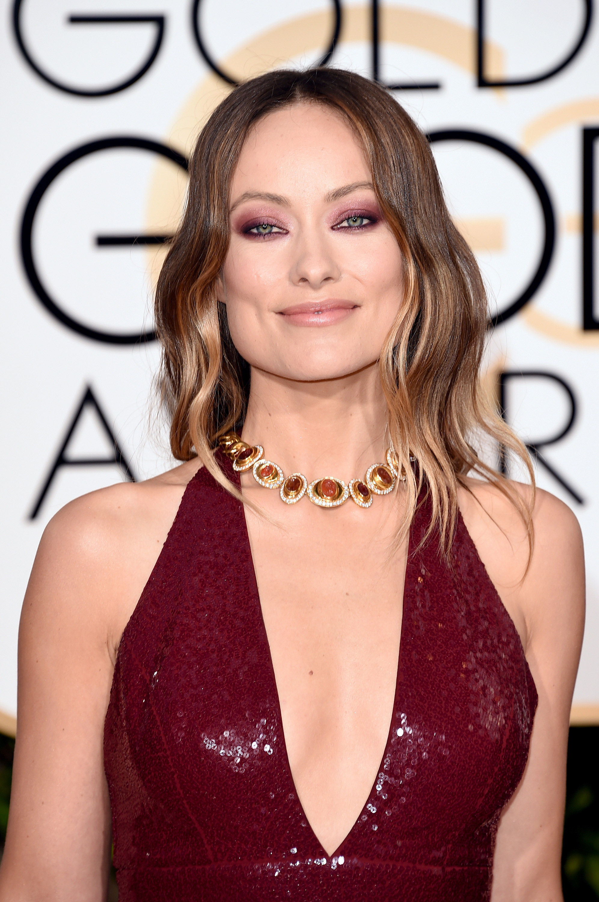 Olivia Wilde Profile And New Pictures 2013: Olivia Wilde's Eye Makeup At Golden Globes 2016
