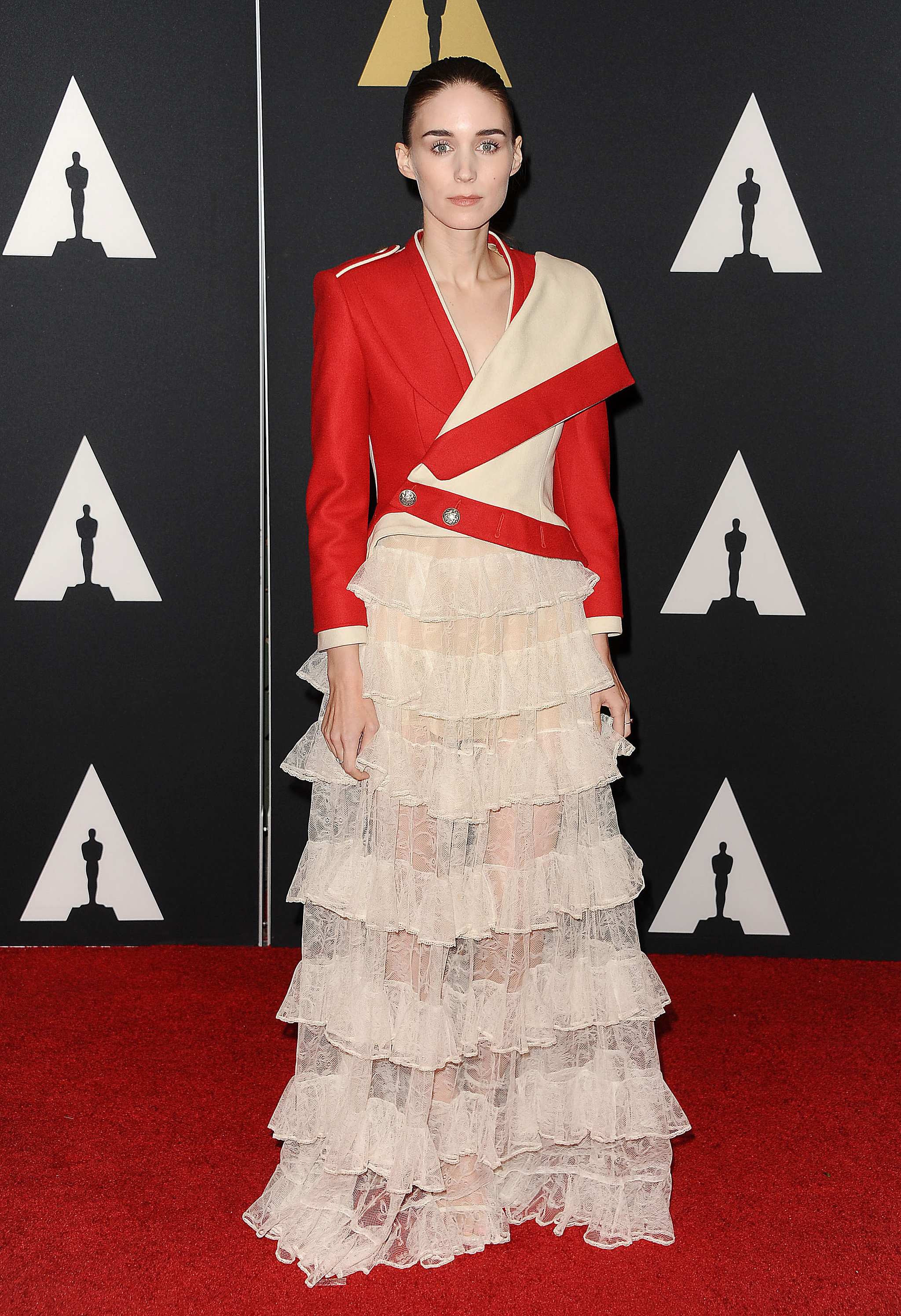 Rooney Mara Wearing Alexander McQueen at the 7th Annual Governors Awards