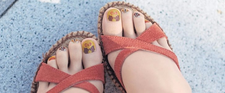 Pedicure Tights Are the Pinnacle of Beauty-Girl Laziness