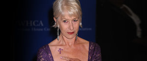 Helen Mirren Really Wants Everyone to Notice Her Red Carpet Tribute to Prince