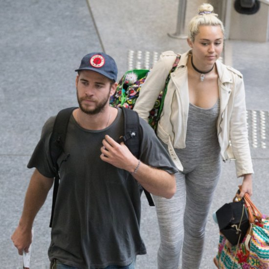 Miley Cyrus Liam Hemsworth Leave Australia May 2016