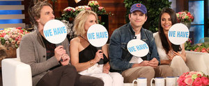 """Kristen Bell and Mila Kunis Play a Special Edition of """"Never Have I Ever"""" With Their Husbands"""