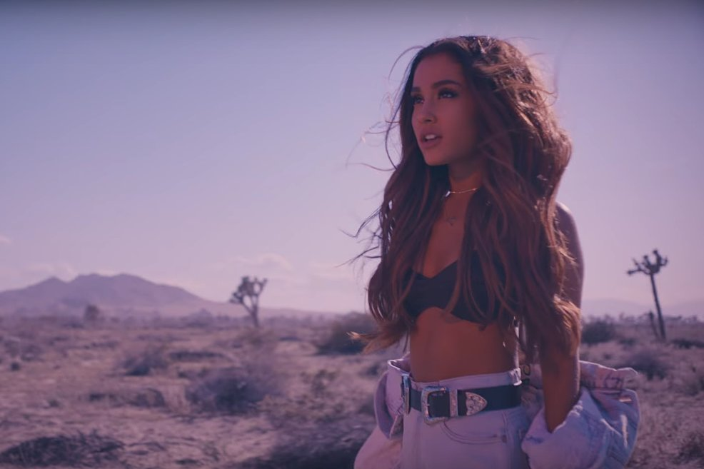 ariana grande music video into you popsugar entertainment